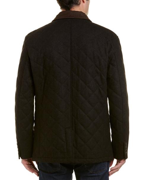 Hart Schaffner Marx Shooter Wool-Blend Coat~1010592988