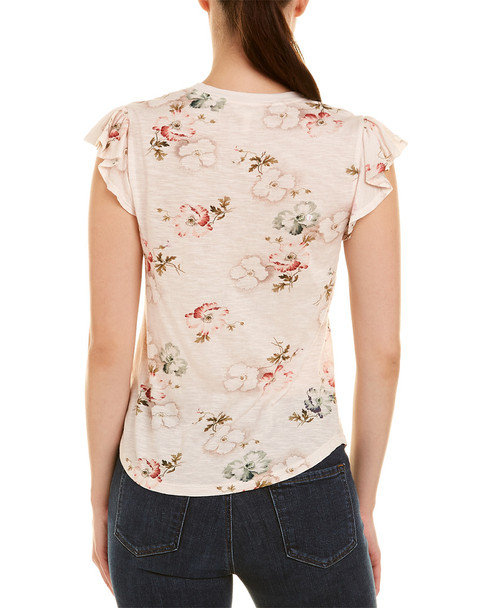 Rebecca Taylor Faded Floral Top~1411016989