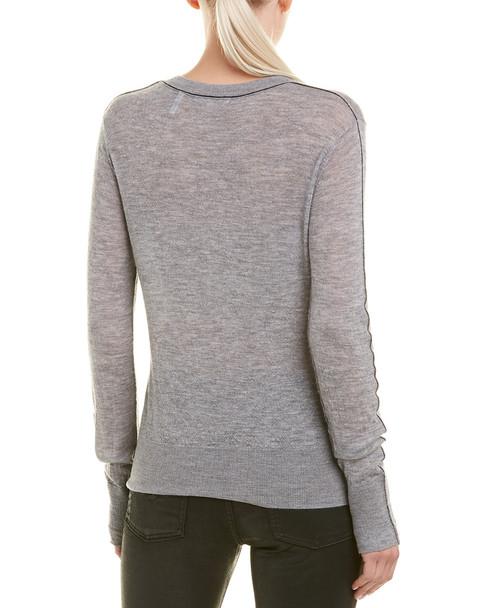 Helmut Lang Sheer Cashmere Pullover~1411039858