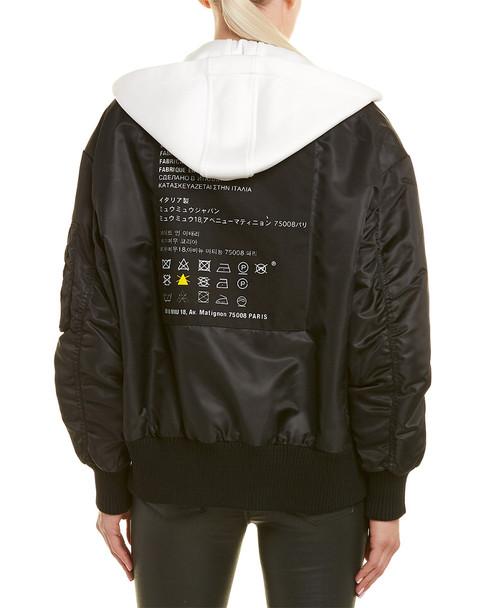 Miu Miu Down Bomber Jacket~1411412433