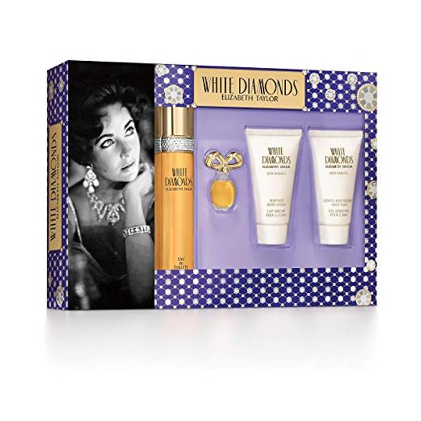 Elizabeth Taylor White Diamonds Ladies Gift Set~A0117419