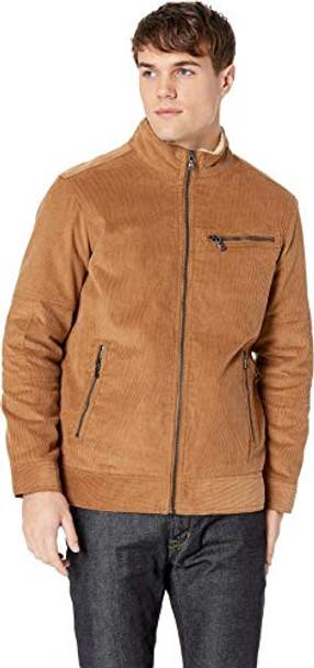 Buffalo David Bitton Men's Non-Denim Casual Jackets~Workers Brown*B623494