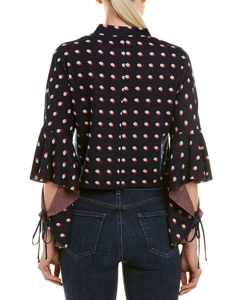 BCBGeneration Dotted Crop Top~1411664679