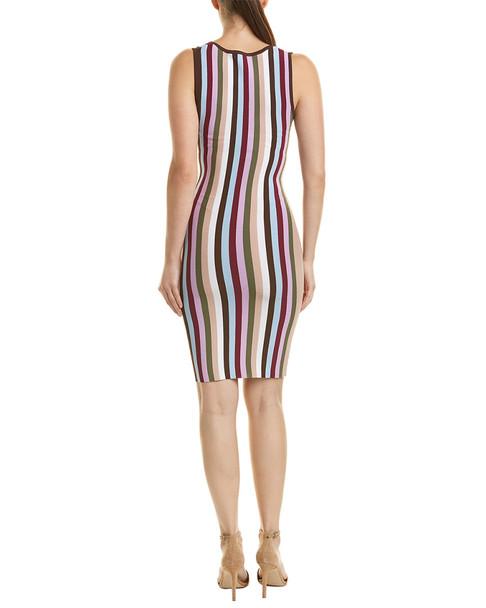 Ronny Kobo Vertical Stripe Dress~1411818928