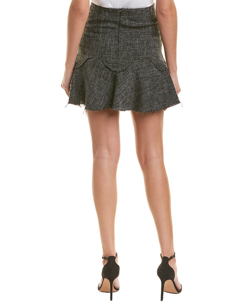 Allison New York Tweed Mini Skirt~1411924480
