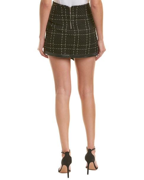 Allison New York Plaid Mini Skirt~1411924482