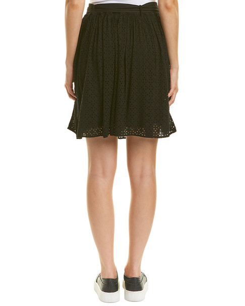 Three Dots Eyelet Skirt~1411990345
