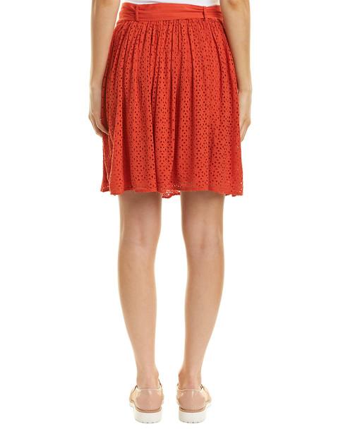Three Dots Eyelet Skirt~1411990346