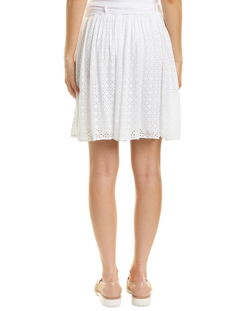 Three Dots Eyelet Skirt~1411990347