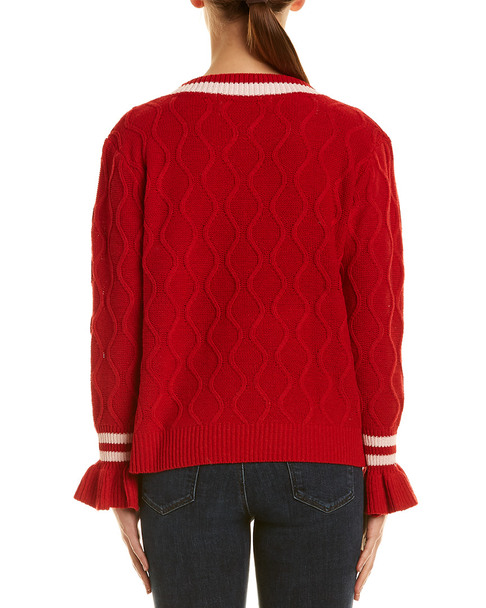 Haute Rogue Bell-Sleeve Sweater~1411993506