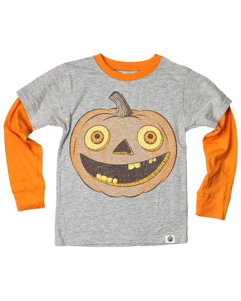 Wes and Willy Bug Eyed Pumpkin T-Shirt~1511769866