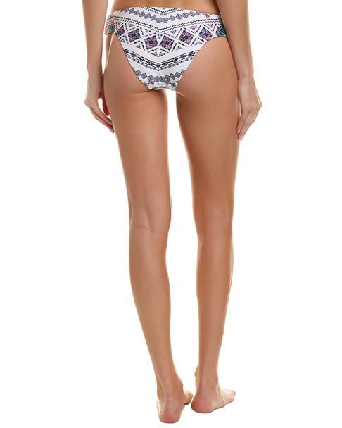 Red Carter Cutout Cali Hipster Bikini Bottom~1411919414
