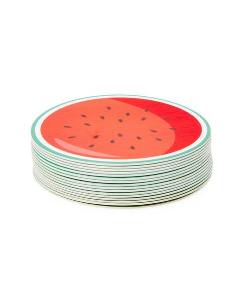 Sunnylife Set of 16 Fruit Salad Reversible Coasters~3050856475