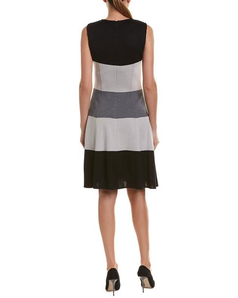 St. John A-Line Wool-Blend Dress~1411610622