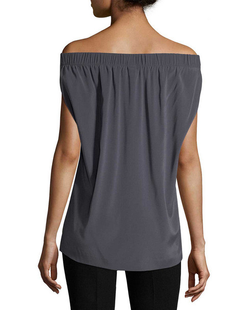 Zero + Maria Cornejo Ruched Off-the-Shoulder Top~1411774249