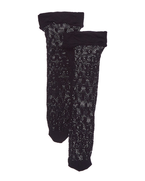 Emilio Cavallini 2pk Hearts On Fishnet Socks~1412007842