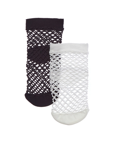 Emilio Cavallini 2pk Medium Fishnet Socks~1412007843