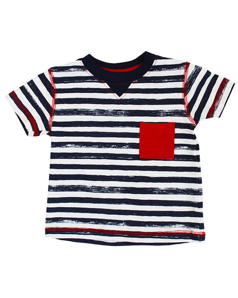 Coccoli Patched Stripes T-Shirt~1511974204