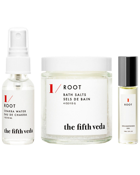The Fifth Veda Root Chakra Gift Set (Set Of 3)~4120770284