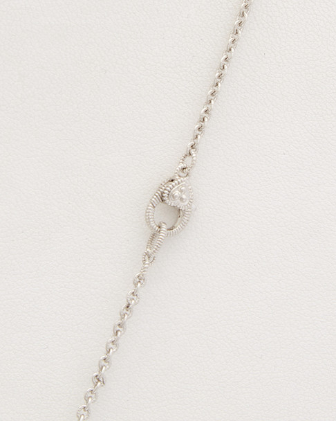 Judith Ripka Gold Coast Silver 34in Necklace~6030959244