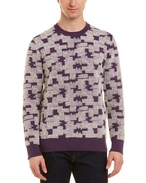 WeSC Anwar Puzzle Check Sweater~1010010480