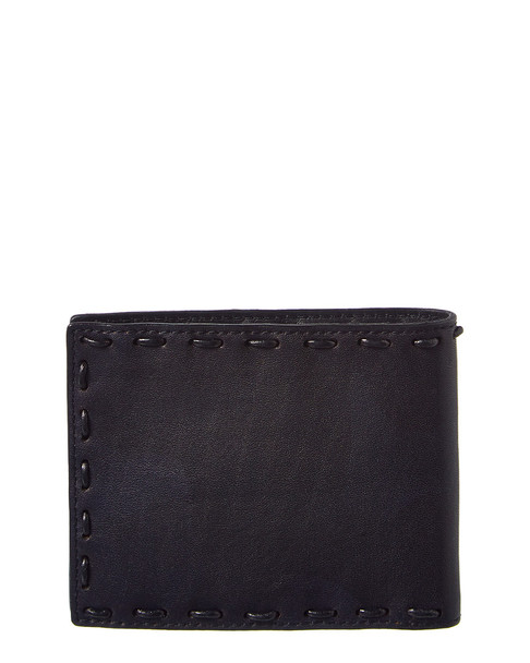 John Varvatos Star U.S.A. Marble Stained Leather Bifold Wallet~1162888160