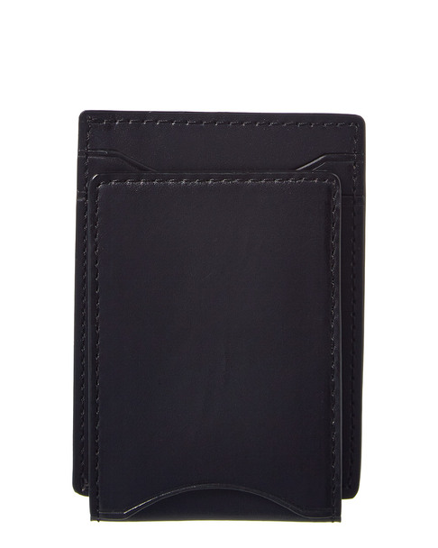 John Varvatos Star U.S.A. Flap Leather Card Case~1162888163