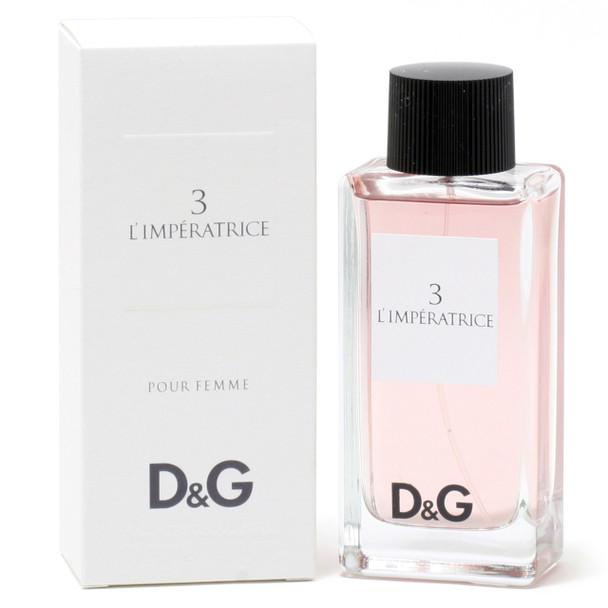 D&G 3 L'Imperatrice Ladies- Edt Spray