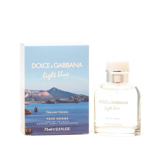 Dolce & Gabbana Light Bluediscover Vulcano Homme- Edt Sp