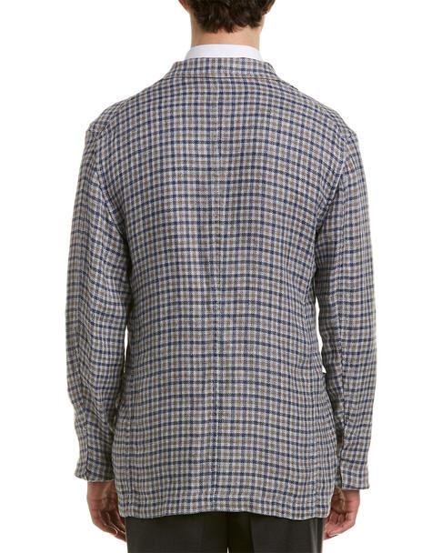 Isaia Linen Sport Coat~1011035762