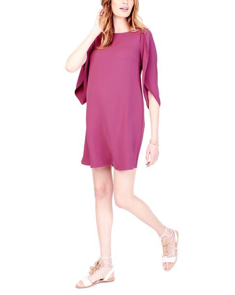Ingrid & Isabel Maternity Tulip Sleeve Shift Dress~1050009043