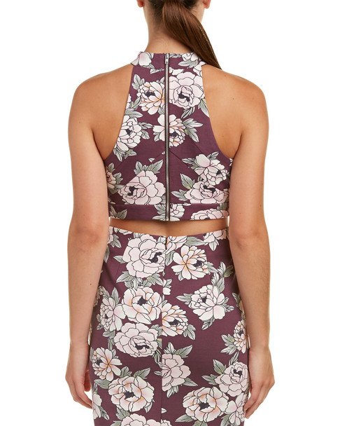 Talulah Lust Floral Crop Top~1411352133