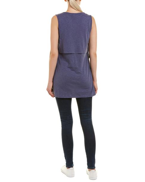 Grey State Kara Linen-Blend Tunic~1411517357