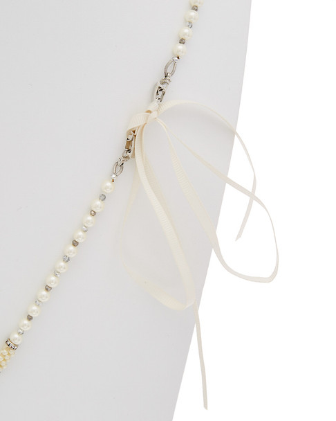 Carolee Pearl Premier CZ Endless Strand Necklace~6030021781