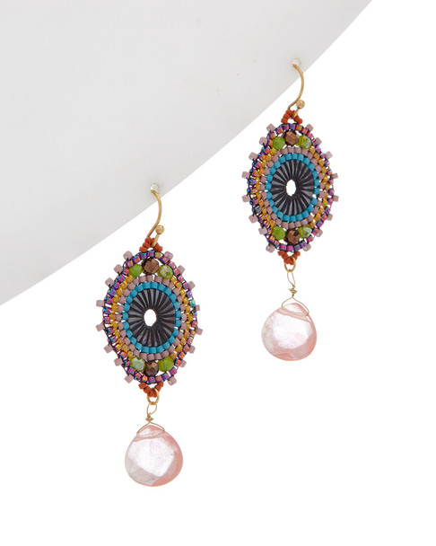 Kenneth Jay Lane Resin Drop Earrings~6030941911