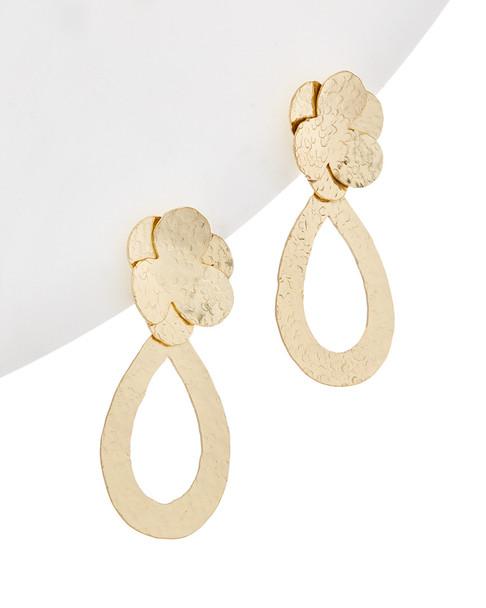 Kenneth Jay Lane Plated Drop Earrings~6030941926