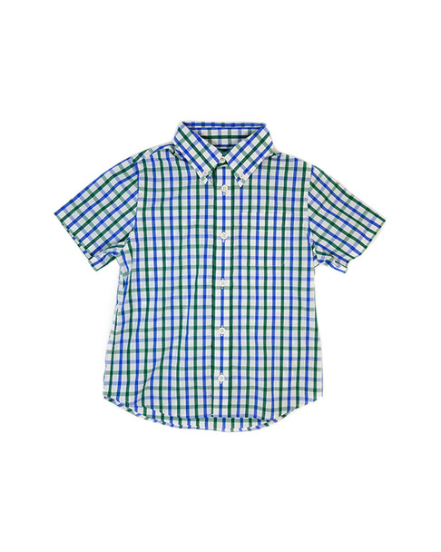 E-Land Kids Plaid Woven Shirt~1511744642
