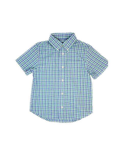 E-Land Kids Fashion Plaid Woven Shirt~1511744647