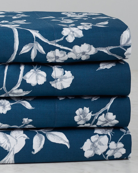 Whit & Alex Toile Blue with Anise Sheet Set~3033683645