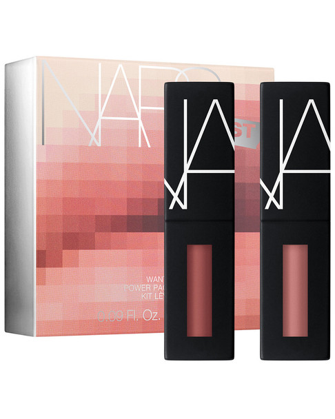 NARS 0.09oz Warm Nudes NARSissist Wanted Power Pack Lip Kit~11118357580000