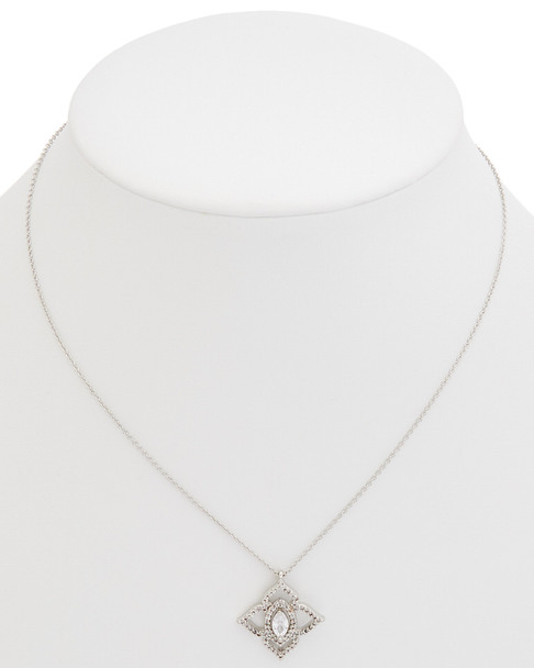 Carolee Crystal Bouquet CZ Pendant Necklace~60300217720000