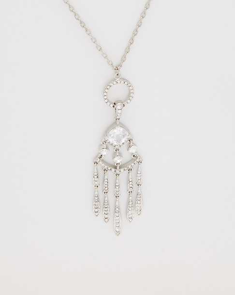 Carolee Social Soiree CZ Pendant Necklace~60300217750000