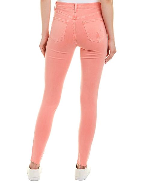 J Brand Maria Grapefruit High-Rise Skinny Leg~1411066095