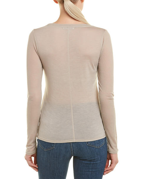 Three Dots Ribbed Top~1411778374