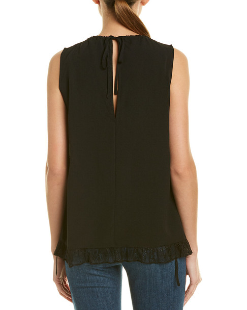 French Connection Classic Crepe Top~1411981258