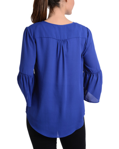 Bell Sleeve High Low Top~Surf The Web*MDOU1427