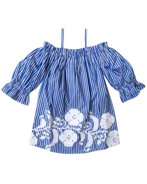 Sophie Catalou Kara Embroidered Dress~1511764592