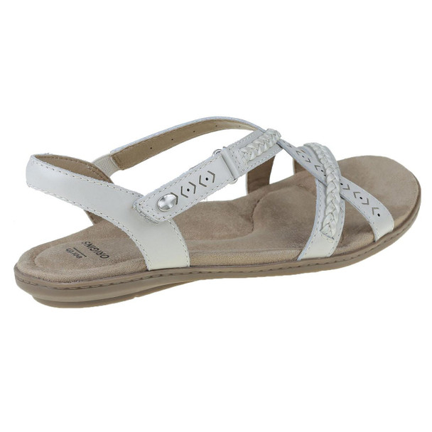Earth Origins Belle Bentley Women Shoes~SAND WHITE*7206359WLEA