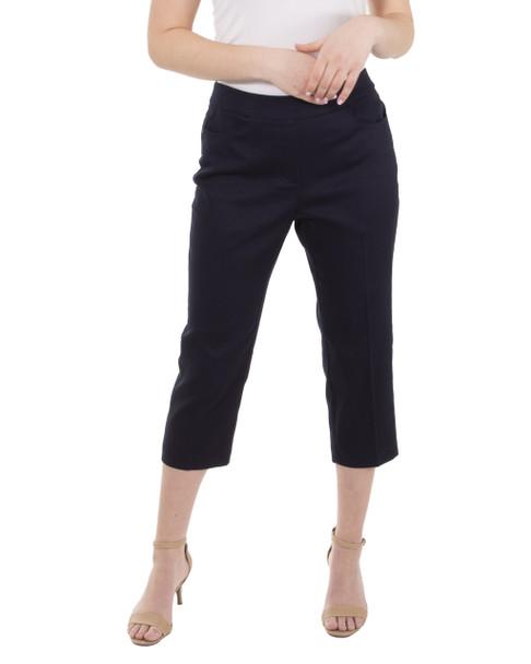 5 Pocket Capri Pants~Navy Blue*MCNL0111