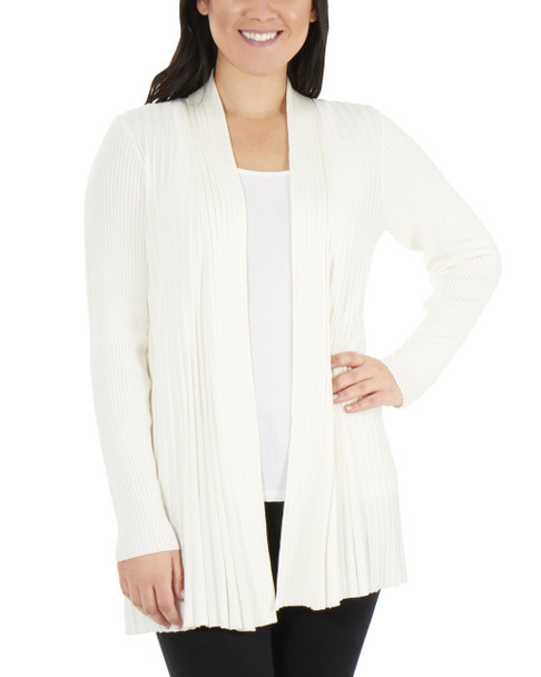 Long Sleeve Open Front Textured Cardigan~Oatmeal Heather*MSVR1156